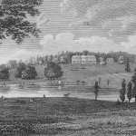 Redgrave Hall and park in 1818