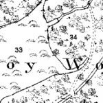 The Friston decoy in 1882, showing its 'skate's egg' plan