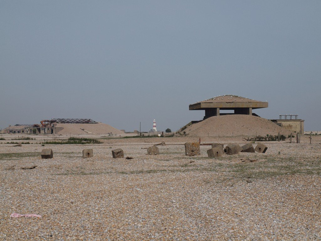 Pagodas at Orfordness